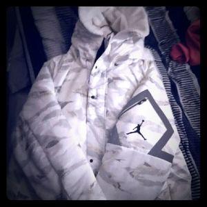 NWT Nike Jordan Sportswear J-3B Flight Jacket, XL